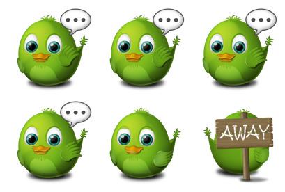 birdie-adium icons thumbnails
