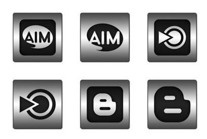 black-inlay-steel-social-media icons thumbnails