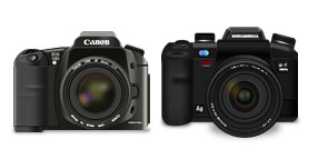 Canon & Konica thumbnails