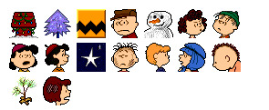 Charlie Brown Christmas thumbnails
