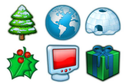 christmas-2 icons thumbnails