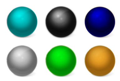Color ball thumbnails
