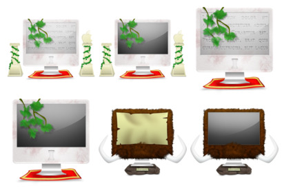 crazy-imac icons thumbnails