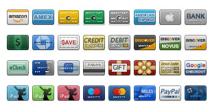 Credit Card Icons thumbnails