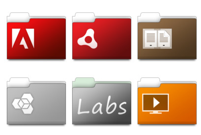 CS3 Work Folders thumbnails