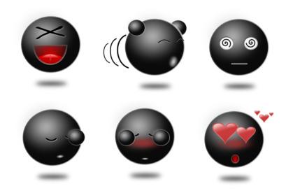 emoji icons thumbnails