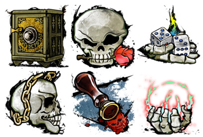 fight icons thumbnails
