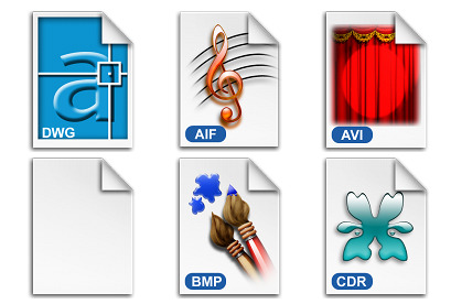 File Types Vol. 1 thumbnails