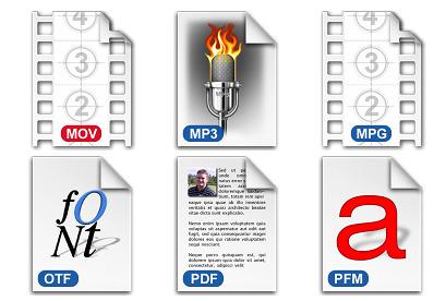 File Types Vol. 2 thumbnails