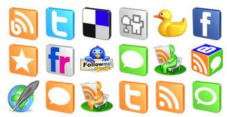Free 3D Social thumbnails