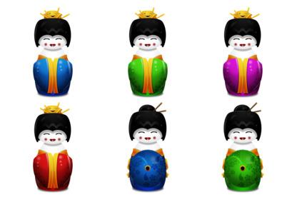 Geisha thumbnails