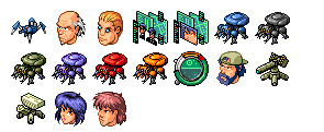 Ghost in The Shell thumbnails