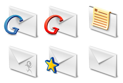 gmail icons thumbnails