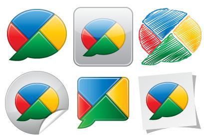 Google Buzz Icons thumbnails