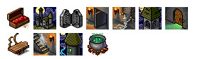 haunted-castle icons thumbnails
