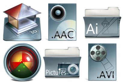 imod-dock icons thumbnails