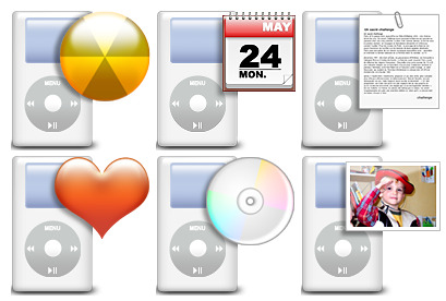 ipod-directories icons thumbnails