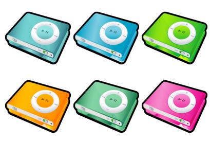 iPod Shuffle thumbnails