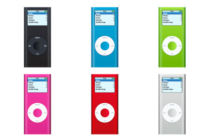 ipod icons thumbnails