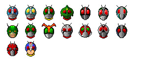 Kamen Rider thumbnails