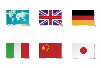 language-flags icons thumbnails