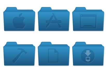 mac-os-x-style-folders icons thumbnails