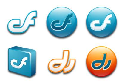 macromedia icons thumbnails