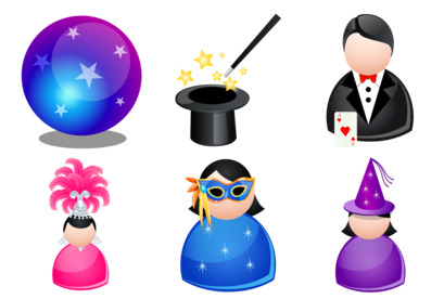 magic-people icons thumbnails