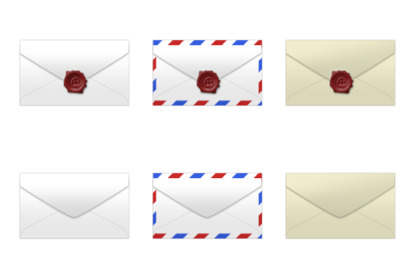 Mail Icons thumbnails