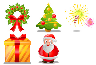 merry-christmas icons thumbnails