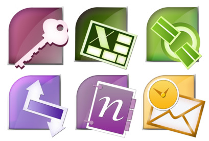 Microsoft Office Suite thumbnails