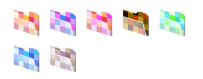 Mosaic Folders thumbnails
