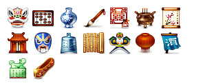 most-chinese-most-pixels icons thumbnails
