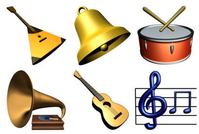 music-library icons thumbnails