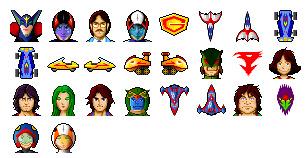 Ninja Team Gatchaman thumbnails