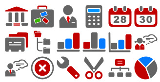office icons thumbnails