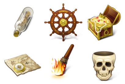 pirates icons thumbnails