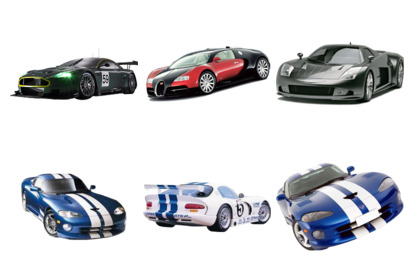 racing-cars icons thumbnails  Race Car Icon Png