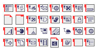 red-tab-system icons thumbnails