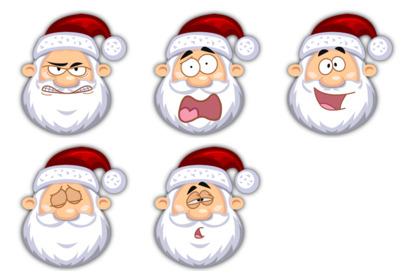 Santa Claus thumbnails