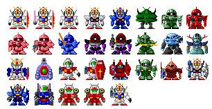 SD Gundam thumbnails