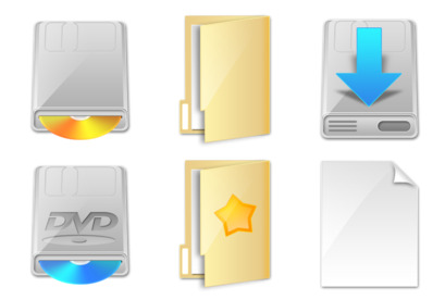 shined icons thumbnails