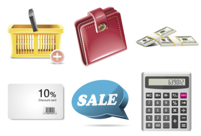 Shopping Icons thumbnails