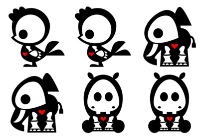skelanimals-2 icons thumbnails