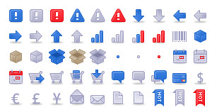 Sketchdock Ecommerce Icons thumbnails
