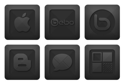 Social Community Icons thumbnails