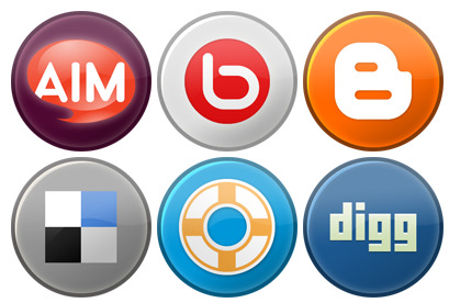 Social Media Icons 2.0 thumbnails