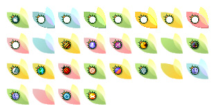 spring-fling icons thumbnails