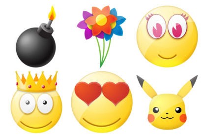 standard-smile icons thumbnails