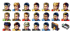 star-trek-tos-crew icons thumbnails